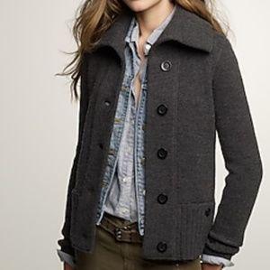 J Crew Arrow Sweater Jacket